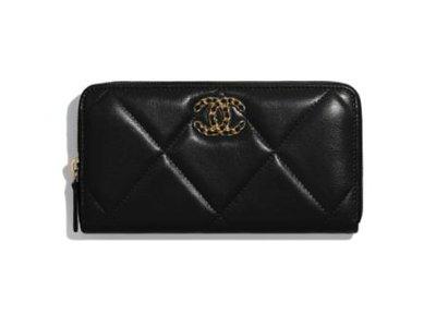 【英國連線代購】CHANEL 19 Long Zipped Wallet 長夾  免運至12/26 AP0946