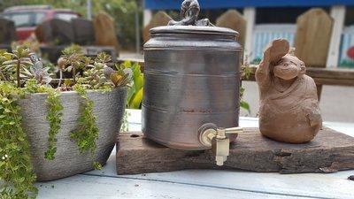 手工柴燒儲水罐 水缸 品水罐 蓄水缸 軟化水質 淨化水質 甘甜好喝 喝水 泡茶 泡咖啡 風味絕美 飲水罐