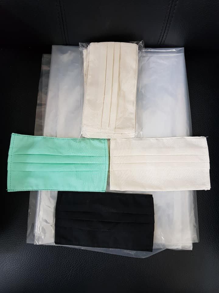 全球防疫必備 ,環保帆布 三折式 口罩套 ,全台最低價