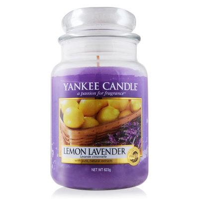 『山姆百貨』YANKEE CANDLE 洋基蠟燭 LEMON LAVENDER 檸檬薰衣草 623g (大) 可門市試聞