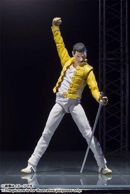 JAMES ROOM#絕版正品萬代SHF 皇后合唱團 樂隊Freddie Mercury 佛萊迪摩克瑞