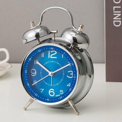 hello小店-大鈴聲機械鬧鈴金屬時鐘創意個性小鬧鐘復古兒童學生用夜光簡約#計時器#鬧鐘#時鐘#