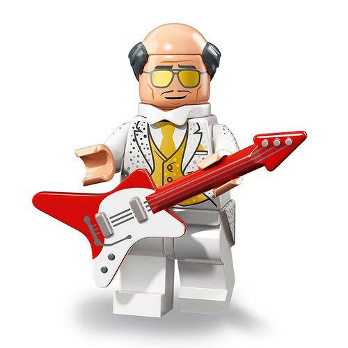現貨【LEGO 樂高】2018最新 蝙蝠俠電影2 人偶包抽抽樂 人偶系列 71020 | #2 派對管家阿福+電吉他