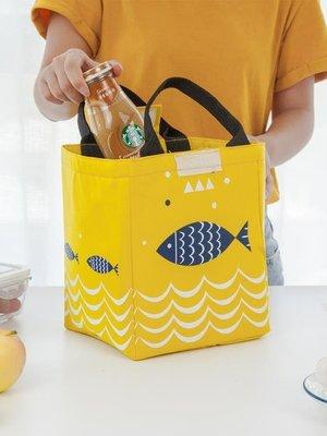 新年鉅惠加厚鋁箔保溫袋便當袋帆布大號帶飯的手提袋女拎防水飯盒袋保溫包ZY