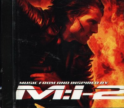 K - Mission Impossible 2 - CD Metallica Rob Zombie Butthole