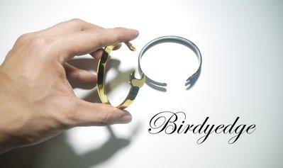 【BIRDYEDGE】鋼 手鐲 永不褪...