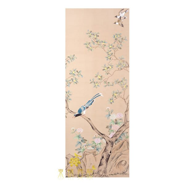 【芮洛蔓 La Romance】手繪絲綢壁紙 ZW01-028A-17 / 壁飾 / 母親節