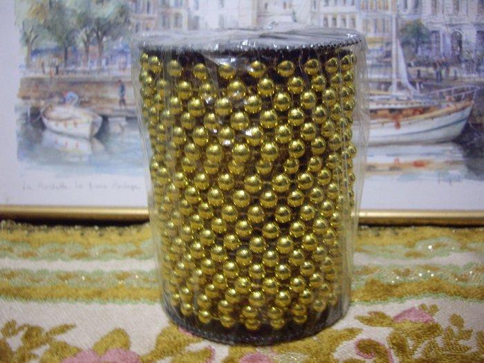 歐洲古物時尚雜貨 裝飾用金珠 擺飾品 古董收藏 ~ 沒拆封