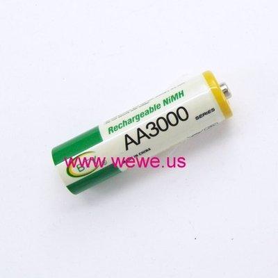 [阿美] BTY 3號AA 鎳氫充電電池 AA3000 另有1.5v充電鋰電池 非14500 3.7v 3.2V鋰鐵 台中市