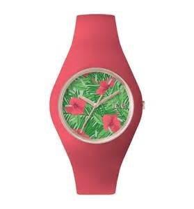 [永達利鐘錶 ] ICE watch 花樣設計腕錶-寶石粉紅ICE.FL.ALO.U.S.15原廠公司保固24個月