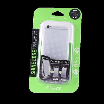 Odoyo Flashing Case for iPhone 6 / 6S - Green