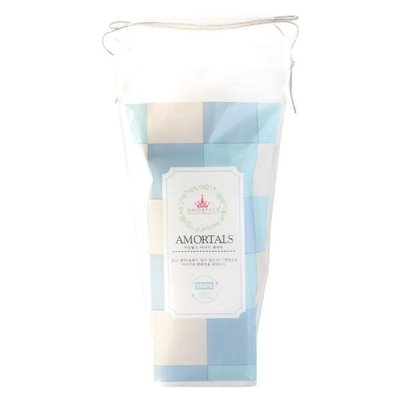 s爾木萄化妝棉150片 干濕兩用不掉屑濕敷純棉卸妝棉