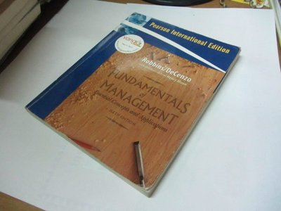 原文書*Fundamentals of Management: Essential Concepts and Applications》ISBN:0136013163