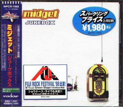 K - Midget - Jukebox - 日版 CD+2BONUS - NEW
