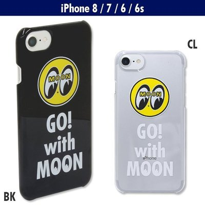 (I LOVE樂多)MOONEYES MOON iPhone8, iPhone7 & iPhone6/6s手機殼