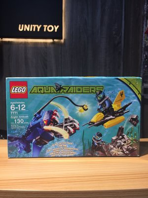 Lego 7771 Aquazone Angler Ambush (Unity Toy)