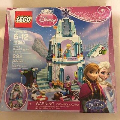 🎀空姐嚴選🎀美國正版樂高❄️LEGO 41062冰雪奇緣 愛紗的閃亮城堡 Elsa迷的最愛❄️