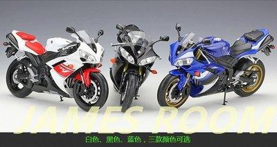 WELLY威利模型1:10 雅馬哈 YAMAHA YZF R1 模擬摩托車模型