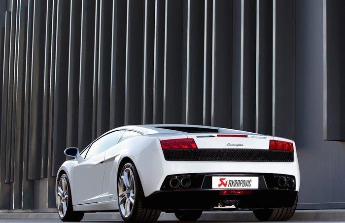 【樂駒】Akrapovic 尾段排氣系統 Lamborghini Gallardo 550/560