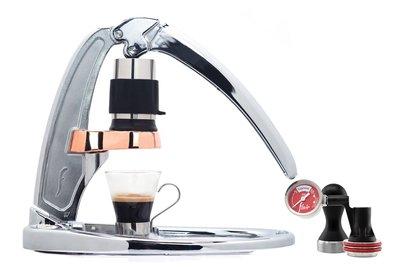 (現貨,免運費) Flair Espresso Maker- 經典款配壓力錶組 (Signature Chrome with Pressure Kit)