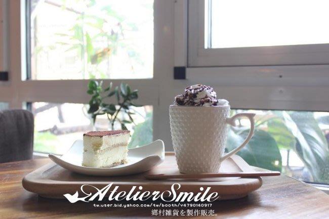 [ Atelier Smile ] 鄉村雜貨 烘焙廚房專用 櫸木厚實 長型托盤 咖啡托盤 有底座 (現+預)