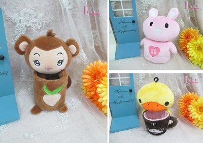 ☆[Hankaro]☆流行可愛動物玩偶造型置物盒(樣品出清)