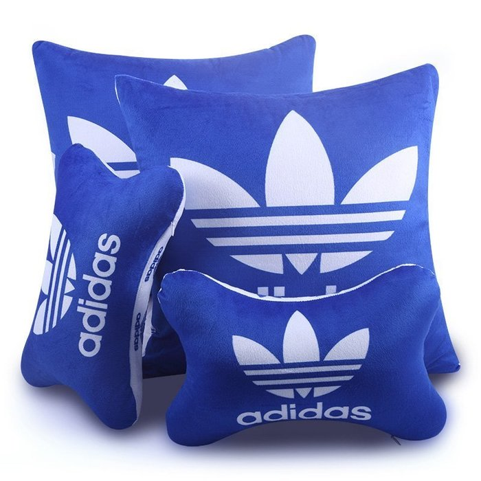 汽車頭枕護頸枕汽車用品內飾車用頭枕抱靠頸枕靠墊套裝