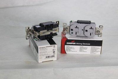 [山姆音響] 美國醫療級COOPER/AH8400系列高級住宅電力插座220V電力用