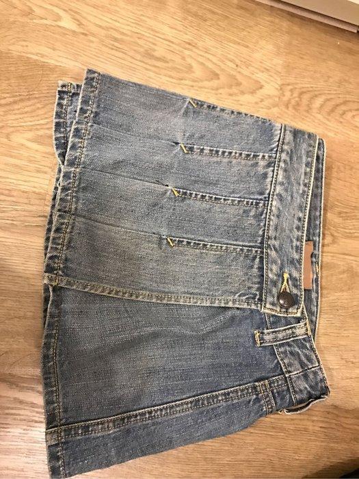 Abercrombie & Fitch 牛仔短裙 尺寸 00。約25-26腰圍