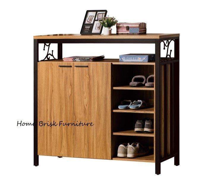 【宏興HOME BRISK】鋼克里4尺鞋櫃,台北、桃園、基隆市區免運費《ZZ新品18》