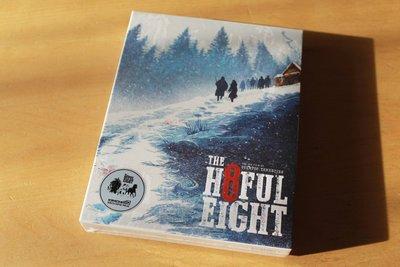 毛毛小舖--藍光BD 八惡人 The Hateful Eight 全紙套限量鐵盒版+電影原聲帶雙碟版 昆丁塔倫提諾