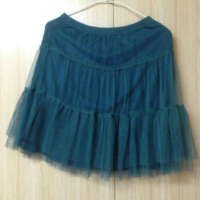 【日本專櫃購入】Tokyo SLY LANG 甜美網狀蓬蓬裙 質感100% 膝上膝下裙 裙子 夢幻