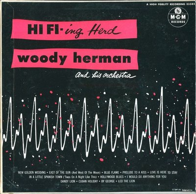 美國二手黑膠 Woody Herman – HI FI-ing Herd