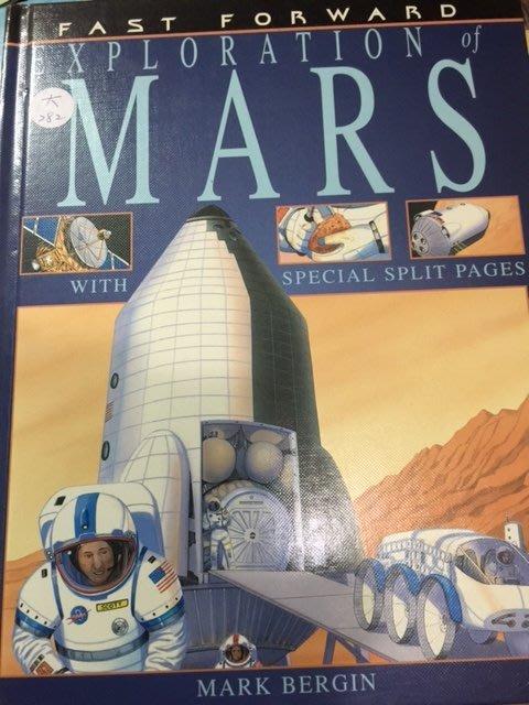 大本英文科學童書 Exploration of Mars - Mark Bergin 硬殼精裝本