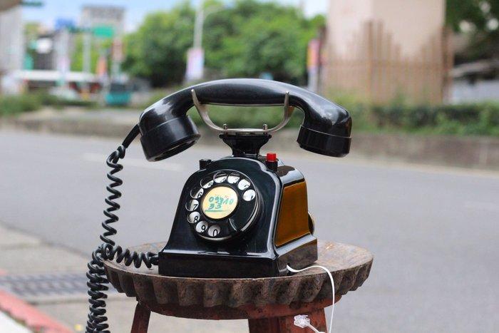 古道具出租 古董電話 撥盤電話 布朗史維克西洋古董