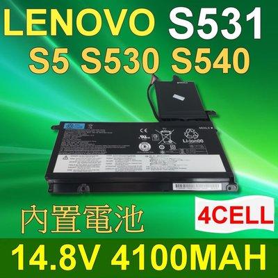 LENOVO 4芯 S531 日系電芯 電池 4ICP7/64/84 Lenovo S5 S530 S531 S540