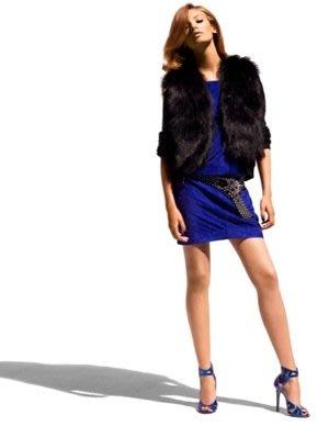 全新美國大道排隊搶購逸品 JIMMY CHOO  X H & M 寶藍高跟鞋👠