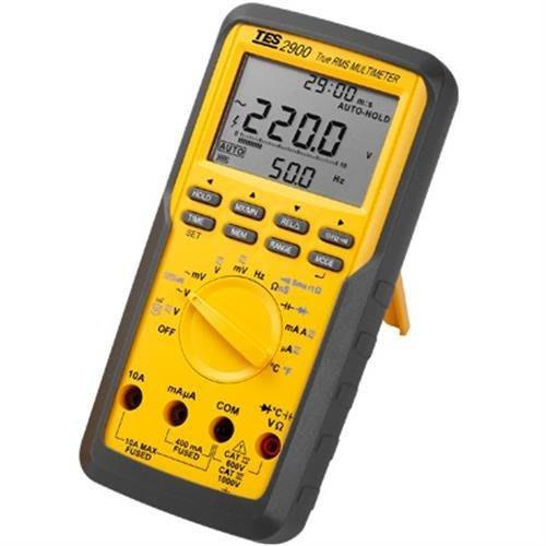 TECPEL 泰菱 》TES-2900 真有效值三用電表 變頻裝置 三相相序 電壓諧波比率測量