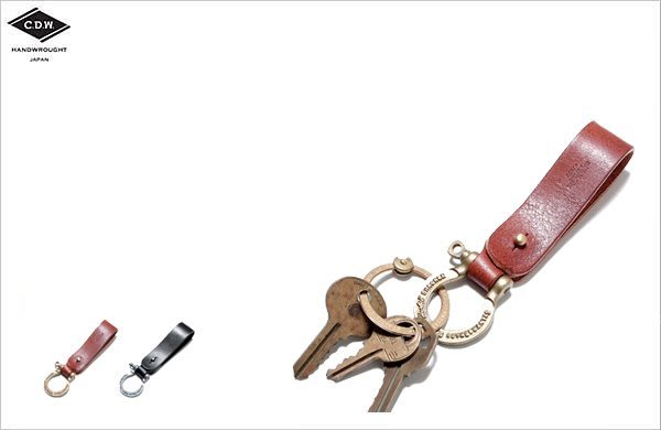 WaShiDa【CK04LS】CDW - HERBIE Leather Key Ring 皮革 鑰匙圈 - 現貨 小物