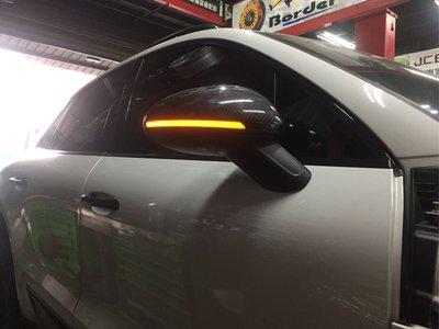 保時捷 Porsche Macan 動態流水方向燈