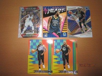 網拍讀賣~Draymond Green~All-NBA~ALL-STARS~REVOLUTION~共5張~150元~輕鬆