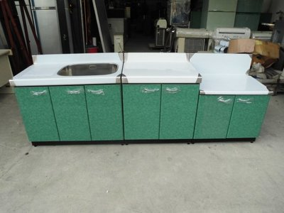 全新品  不銹鋼三件式流理台&二手家具台中權威 白鐵工作台 水槽 瓦斯爐台