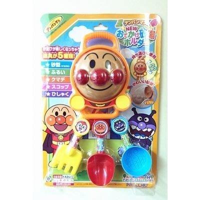 剁手價 出清區 日本正版 麵包超人 挖沙玩具組 海灘玩具 玩沙玩具組 5件組310476