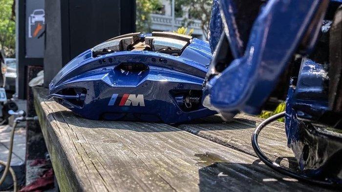 國豐動力 BMW G30 正廠零件 M 原廠煞車組 前盤 348mm 後盤 345mm 現貨供應歡迎洽詢價格含工資