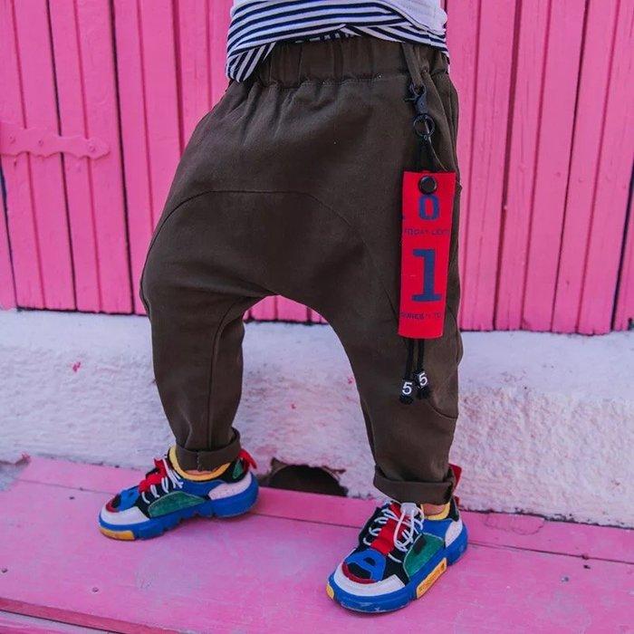 韓範~外貿2018新款男童很有範哈倫褲長褲@KK.KIDS