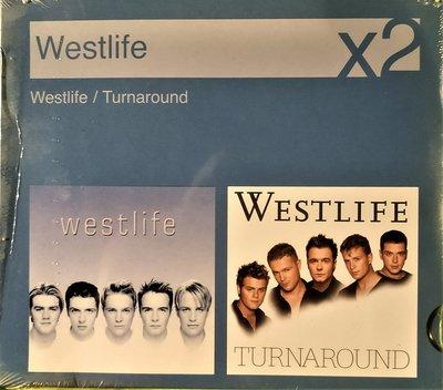 西城男孩 Westlife x2 ~ westlife + TURNAROUND ~ 歐洲進口全新未拆, 已絕版