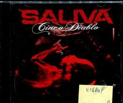*真音樂* SALIVA / LINCO DIALLO 二手 K16809 (封面底破)