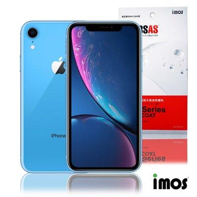 iMos 3SAS iPhone XR 6.1吋 (非滿版)超抗潑水疏油效果保護貼-正面