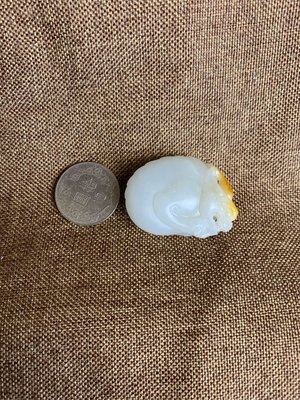 新疆和闐玉籽料《貔貅》