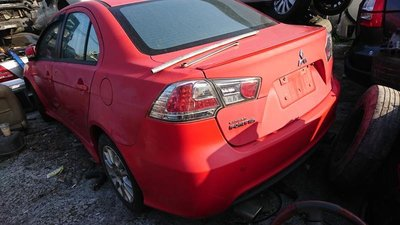 2011 MITSUBISHI LANCER FORTIS iO 電折 換檔快撥 零件車